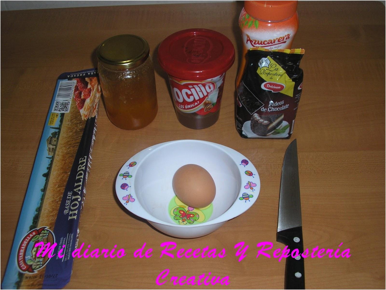 Mi diario de recetas y reposteria creativa garrotes de - Ingredientes reposteria creativa ...