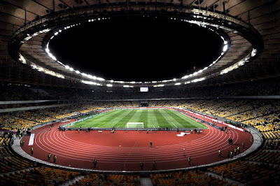 Stadionul Olimpic din Kiev Ucraina