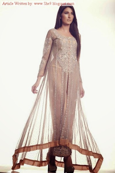 Winter Bridal Wear by Ayesha Somaya