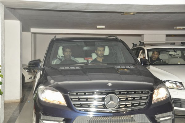 Alia, Varun, Sidharth and Arjun snapped at Karan Johar's house