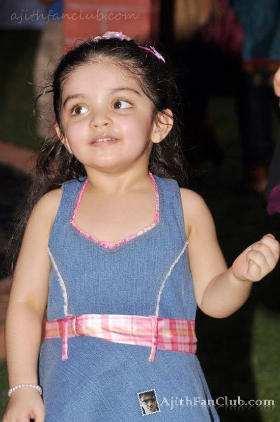 Ajith's Daughter Anoushka 3