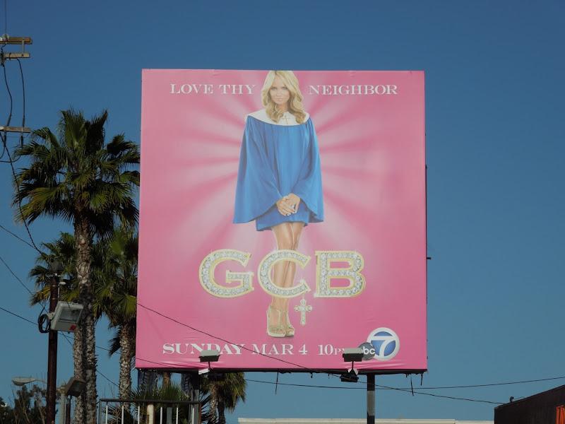 Kristin Chenoweth GCB billboard