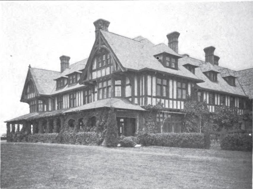 Old Long Island The Dr P B Wyckoff Estate