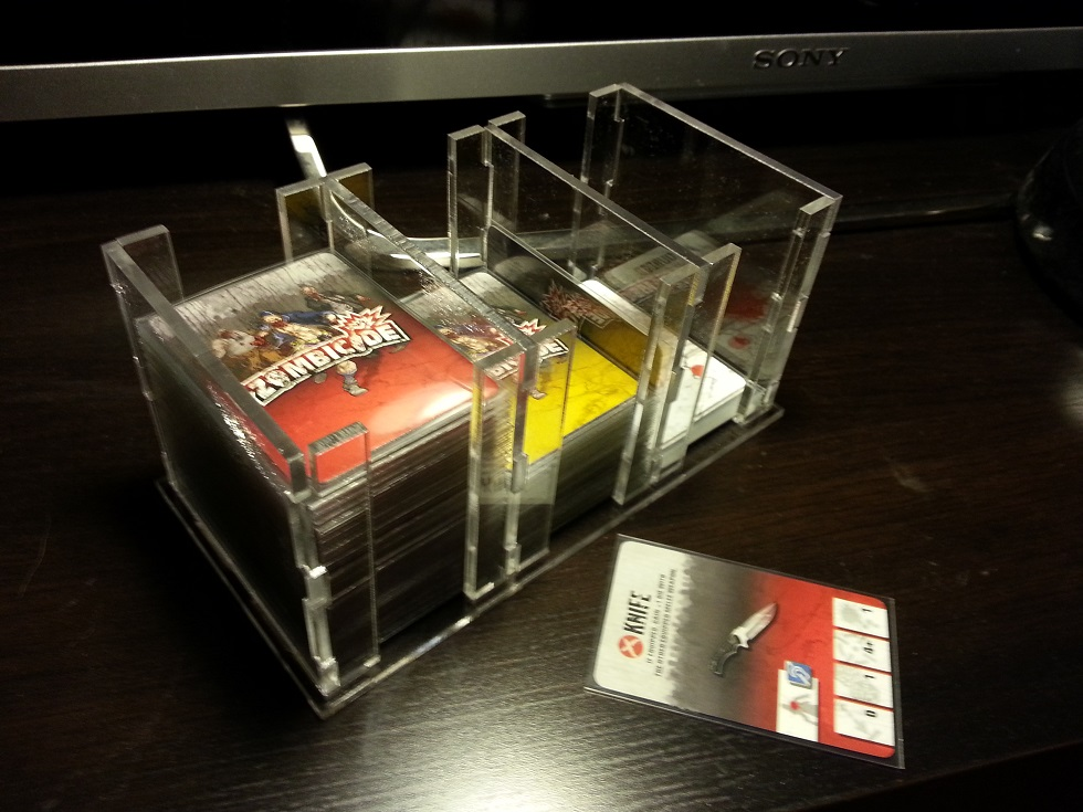 Children of the kraken zombicide card organizer yeah for Porte zombicide