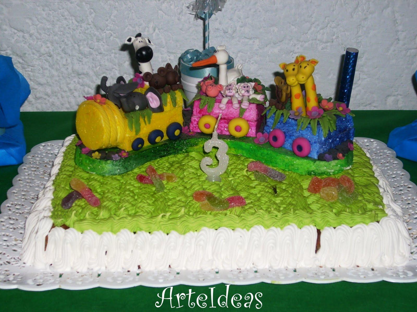 Arteideas: Decoración de cumpleaños infantil! Animales de la Selva!!!!
