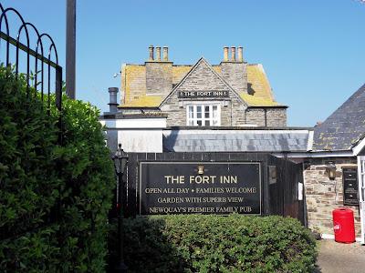 Fort Inn pub and restaurant Newquay Cornwall