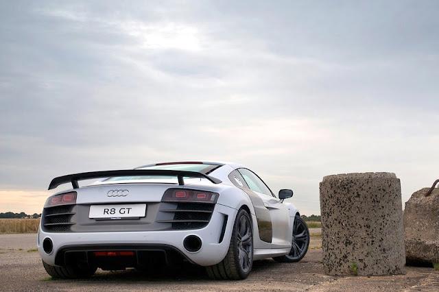 2012 Audi R8 GT Back Exterior
