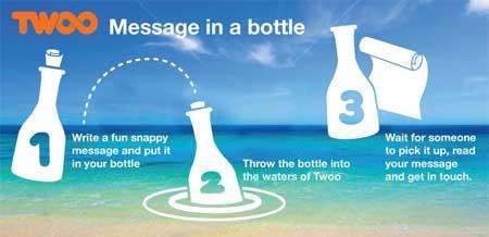 mensaje en una botella chat twoo