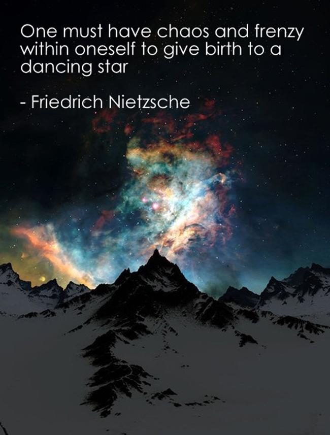 Wednesdays Words Nietzsches Dancing Star Leotie Lovely