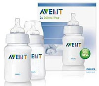 Avent Bottle Airflex 9oz/260ml Twin Pack