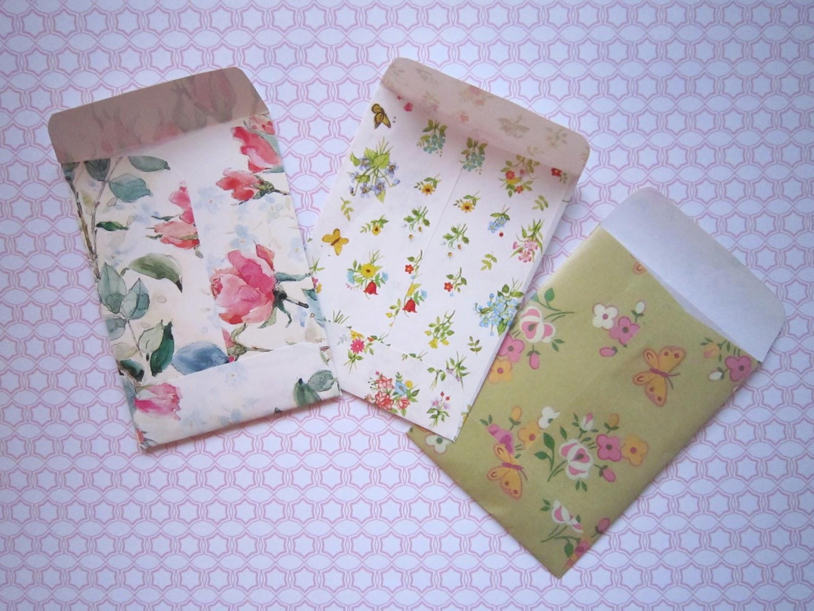 kiwi chic diy cute little envelopes