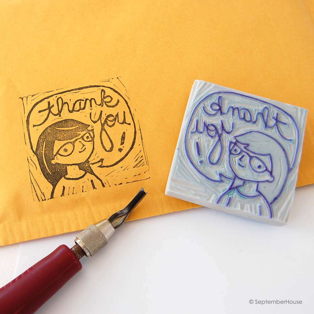 hand carved stamps septemberhouse
