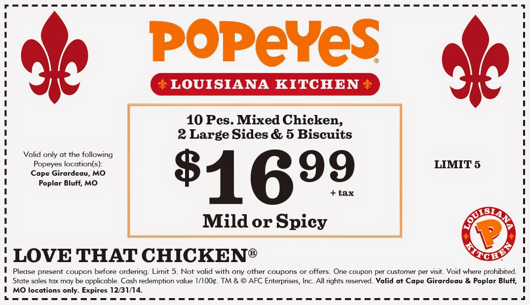 Popeyes chicken & biscuits cajun fried chicken restaurant franchise. Franchising available - both domestic and international, real growth opportunity for experienced restaurant operators.