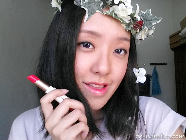 Using Innisfree Creammellow Lipstick