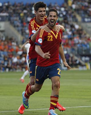 Spain Soccer U-21 2013