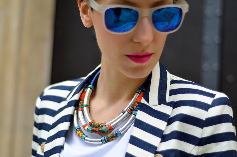 zara tribal necklace