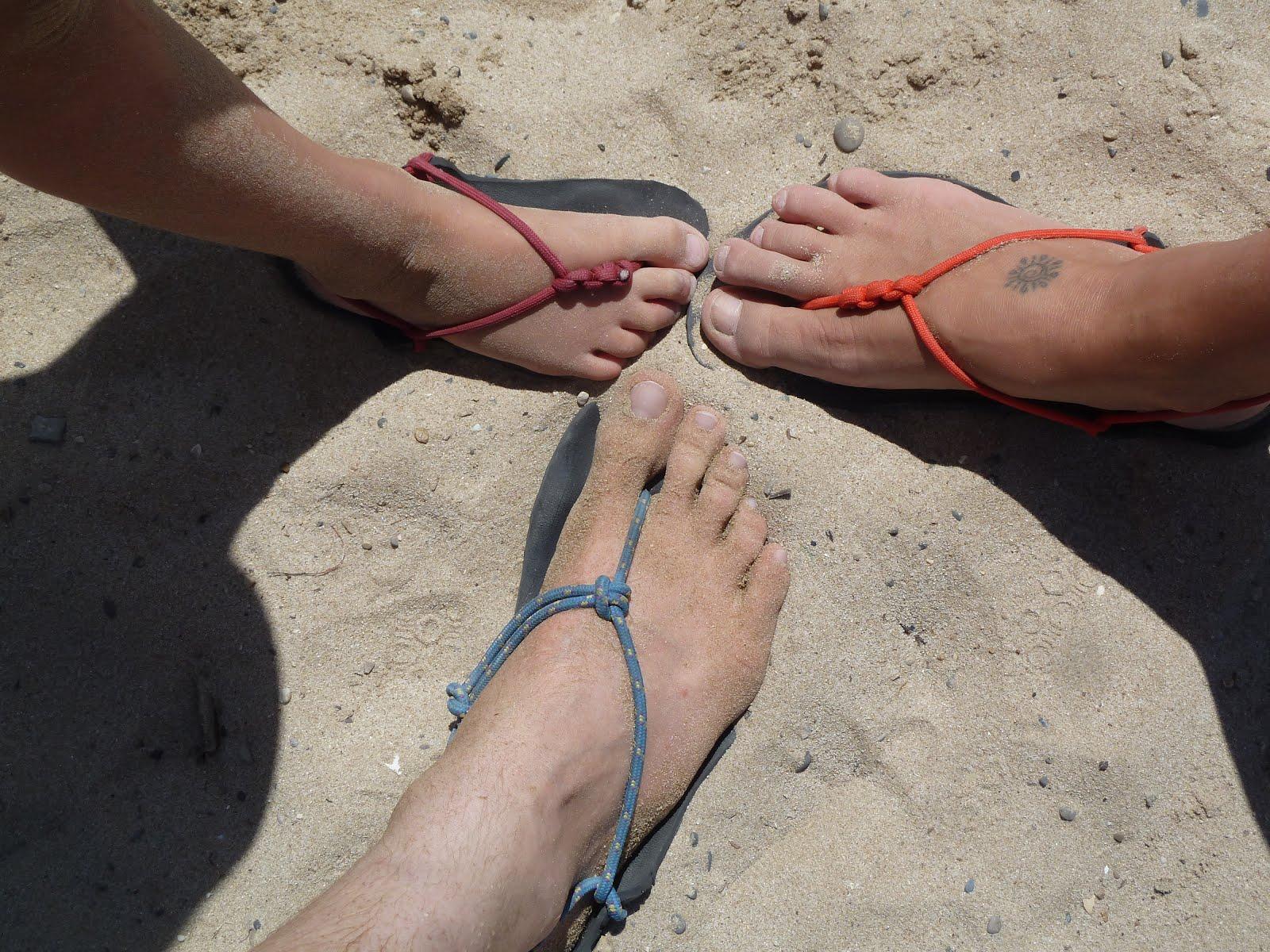 sandales minimalistes homme / femme / enfant