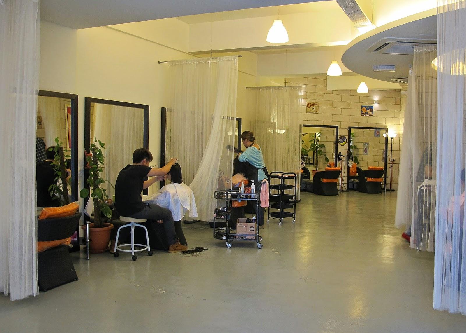 Daisuke Hair Salon interior