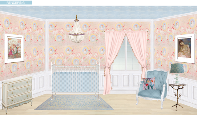 A whimsical nursery…