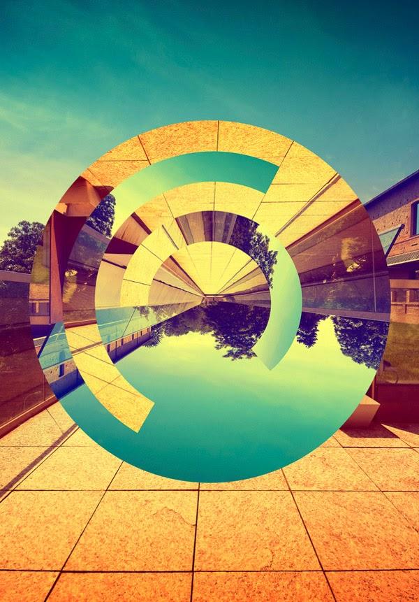 Ketika Desain Disatukan Dengan Fotografi - L'INFINITO By Victor Vercesi
