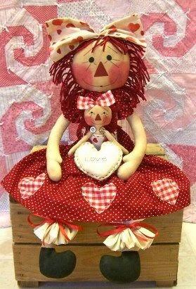 Moldes boneca palhacinha de tecido