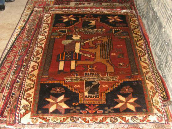 King Fighting Lion Persian Rugs In Baltimore Maryland
