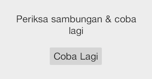 cara atasi Check Connection and Try Again
