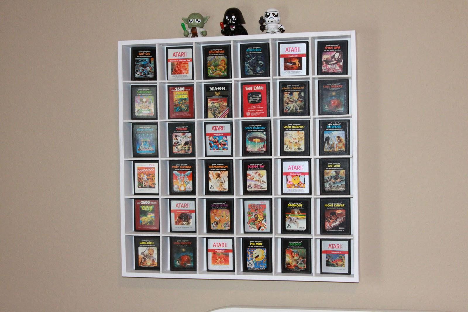 Stuff and Things Tween Boys Vintage Video Game Room