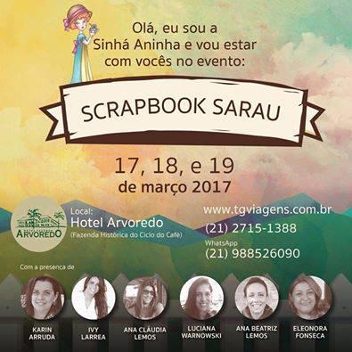 Scrapbook Sarau! Mon Papier Crafts