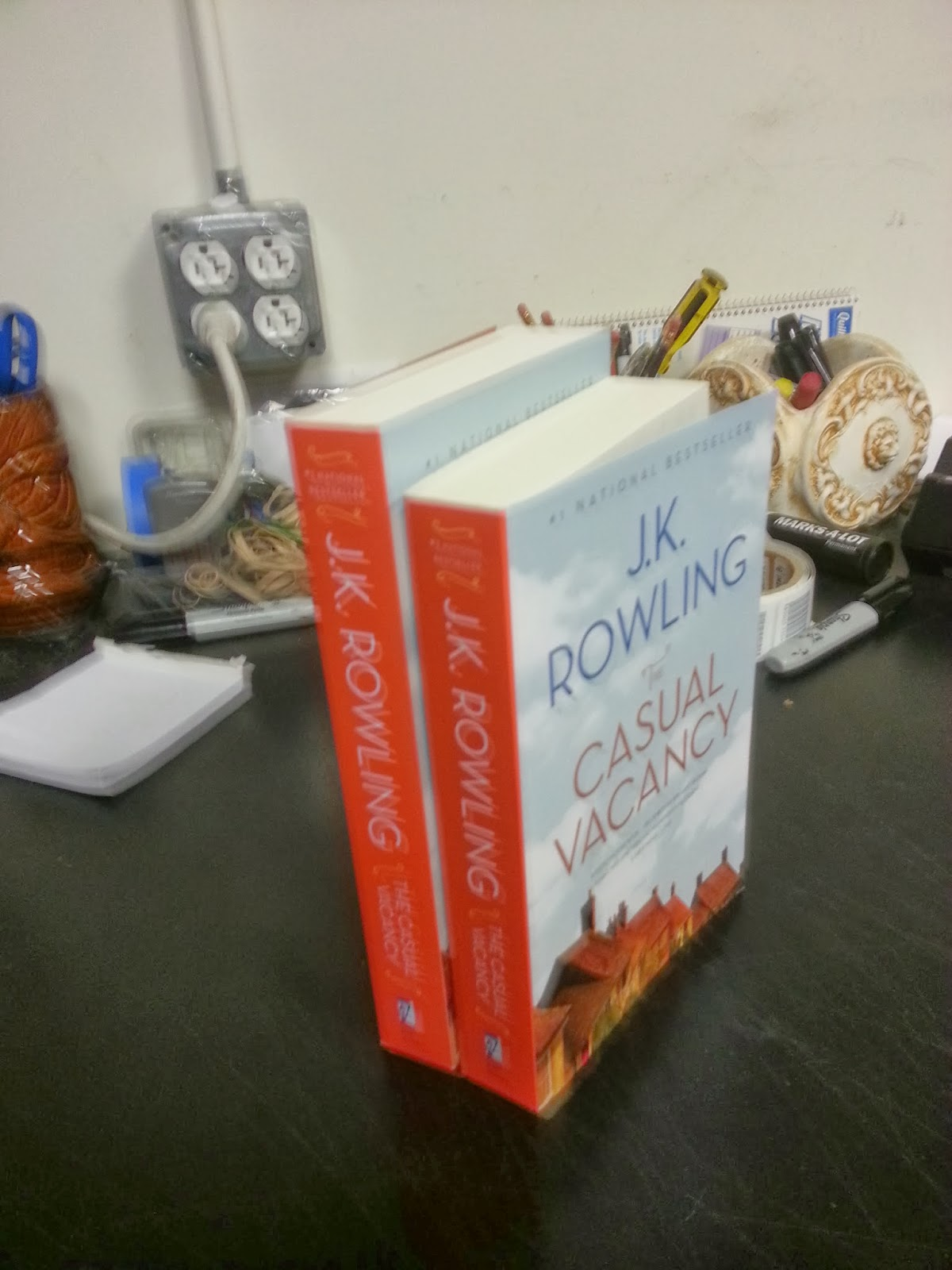 boswell and books fun trim size observations about j k several ago i noted that j k rowling s the casual vacancy was a bit oversized compared to the other books on the new paperback table
