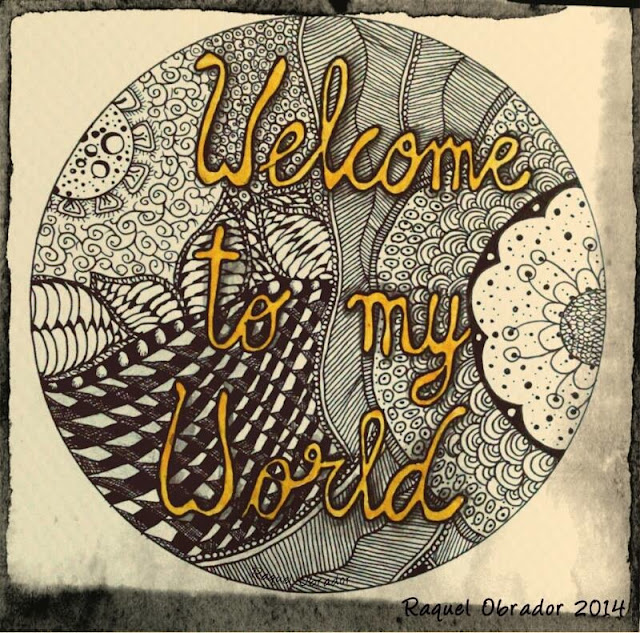 Zentangle welcome to my world