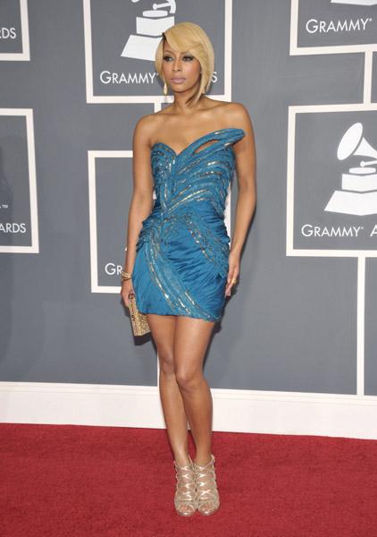 The Interesting Singer Monica Arrives For The 53rd Annua Photo