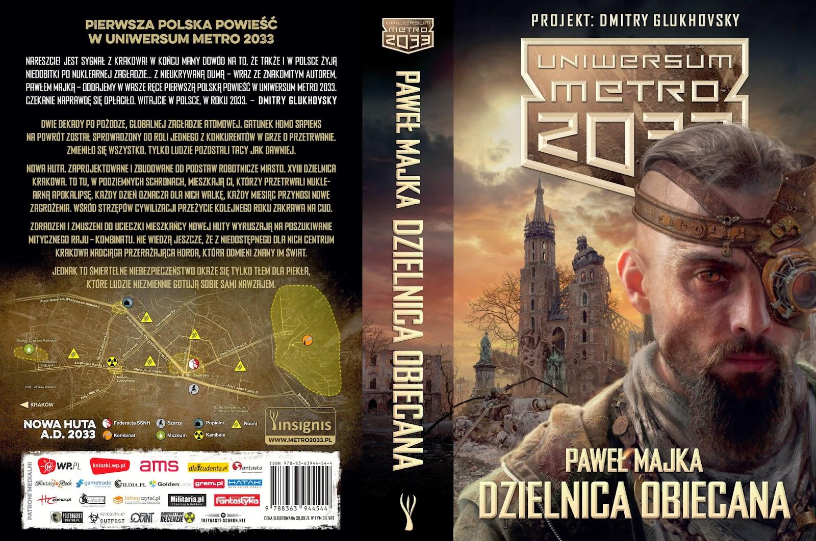 Już dzisiaj premiera pierwszej polskiej powieści w Uniwersum Metro 2033!