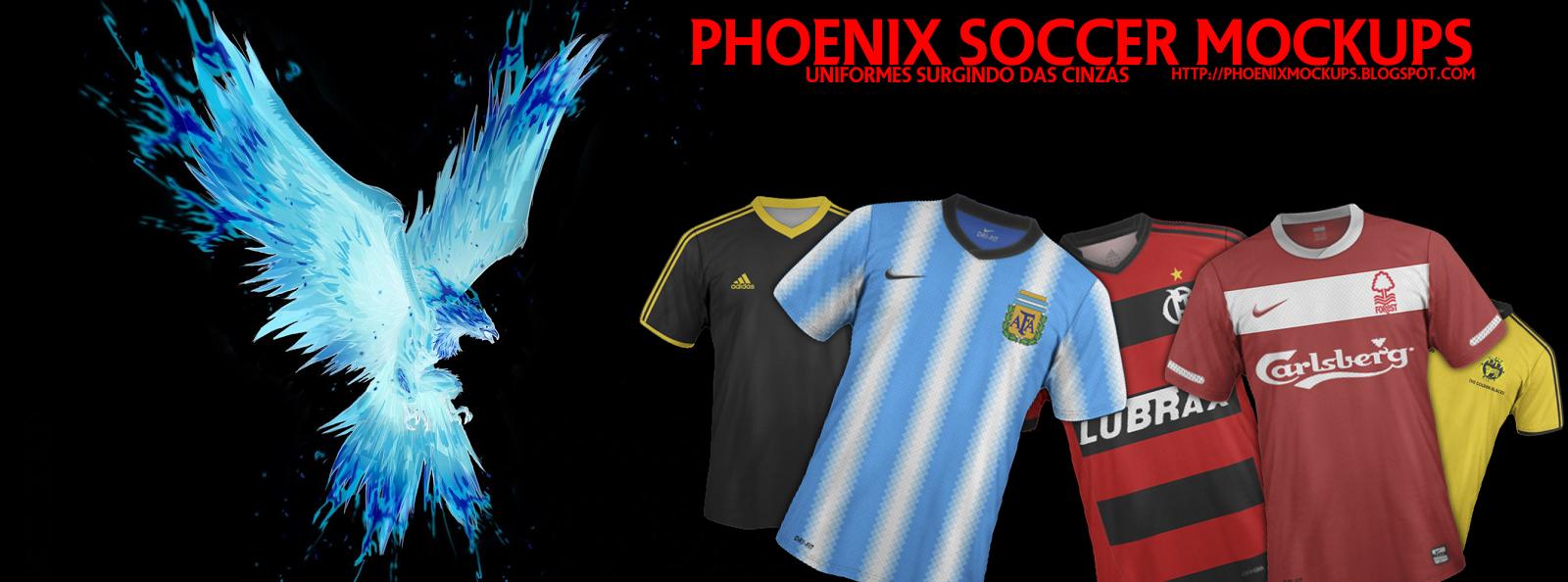 Phoenix Soccer Mockups