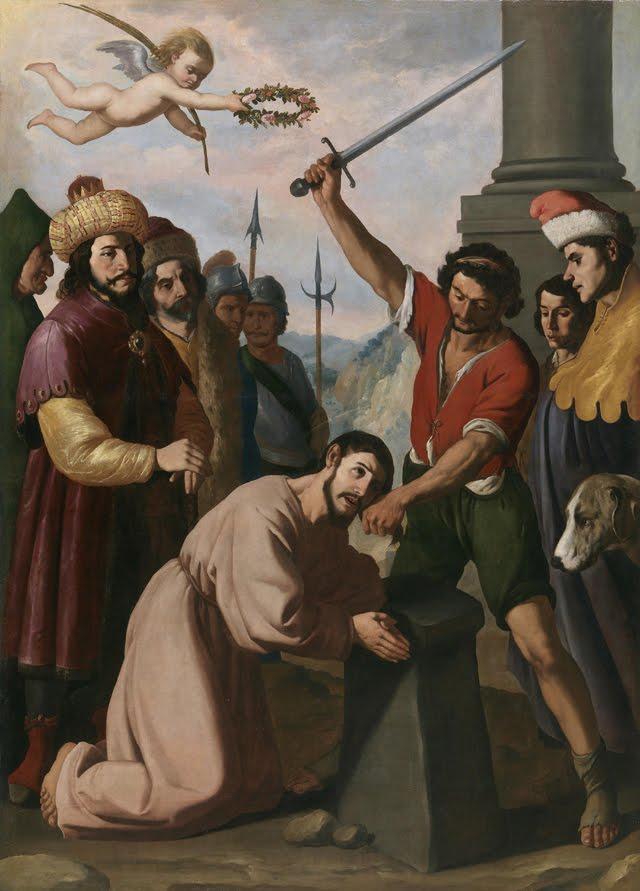 La profanación de San Esteban y la decapitación de Santiago Hamel(ín)