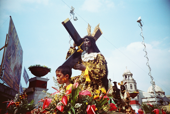 Closed Road in Manila on January 9, 2013 - Pista ng Poong Nazareno