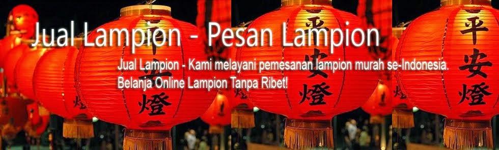Jual Lampion | Pesan Lampu Lampion | Pusat Lampion Murah