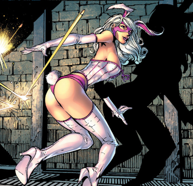 ... of women by giving Batman a new strong female villain, The White Rabbit.