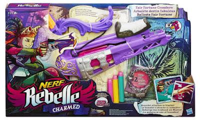 TOYS : JUGUETES - NERF Rebelle Charmed - Fair Fortune | Ballesta - Crossbow Producto Oficial 2015 | Hasbro B1698 | A partir de 8 años Comprar en Amazon España & buy Amazon USA