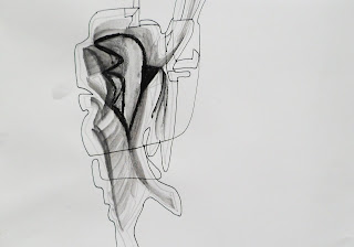 Stain 2,3,5,7  Water Soluble Pencil, Charcoal, Graphite Stick and Pen, A4 2013