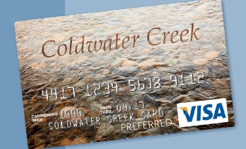 Online payments submitted after 8PM EST will be credited the following day (or on your future scheduled payment date). Please note that it may take up to two business days to complete the financial transfer from your personal bank account to your Coldwater Creek Credit Card Account.