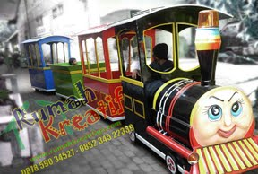 Kereta Mini Kereta Mall dan Komidi Putar