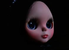 Gothic OOAK Blythe Custom