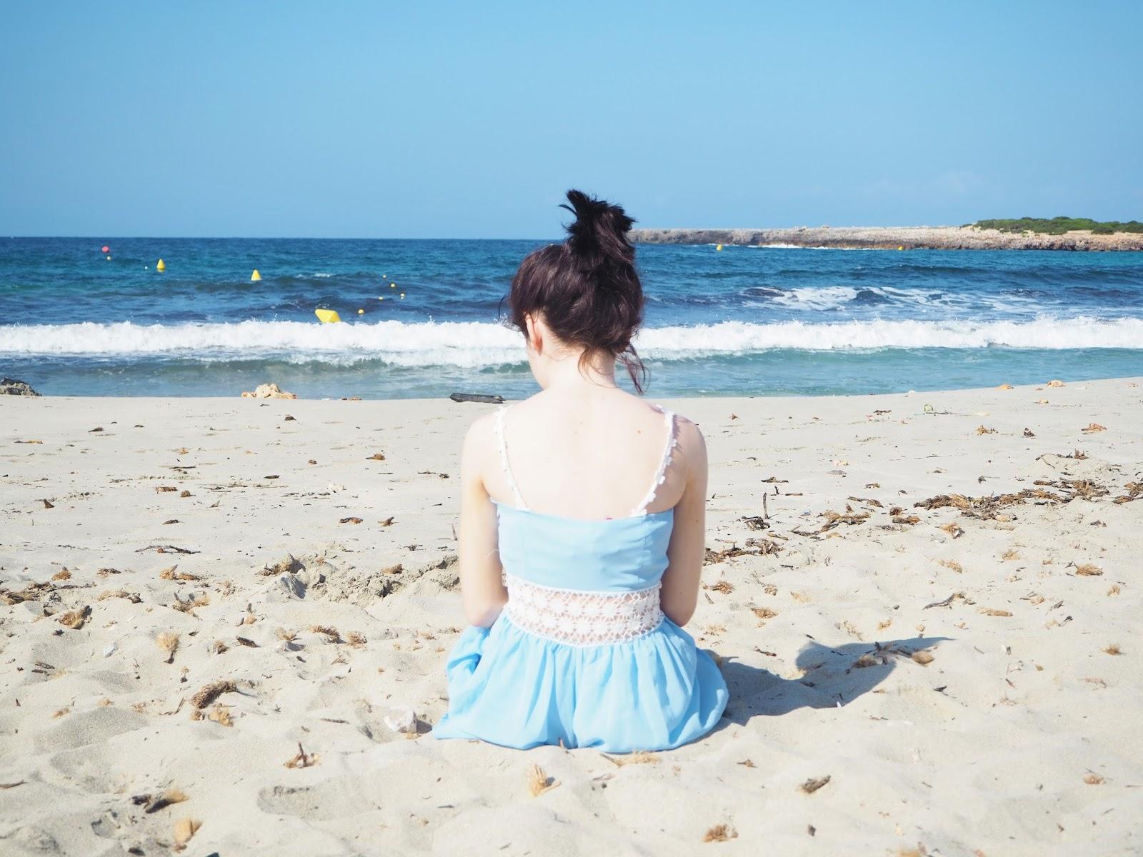 beach, happiness, menorca