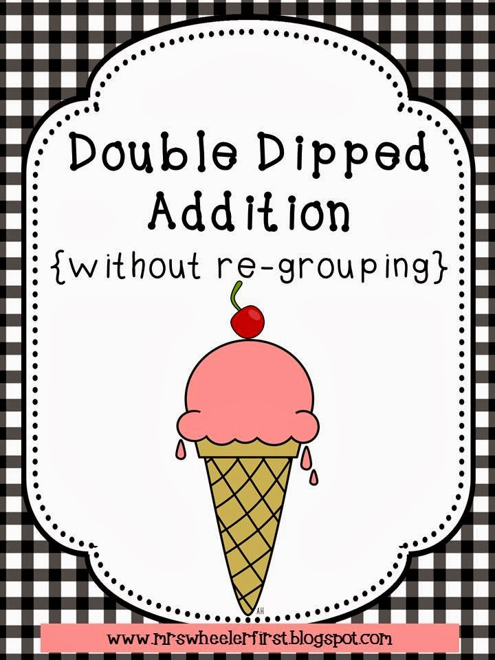 ... . Wheeler's First Grade Tidbits: 2-Digit Addition Without Re-Grouping