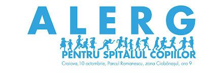 Alergam pentru Spitalul Copiilor, 10 Octombrie, ora 09:00