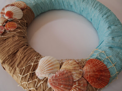 #wreathhoa @mvemother How to Make a Beach Wreath