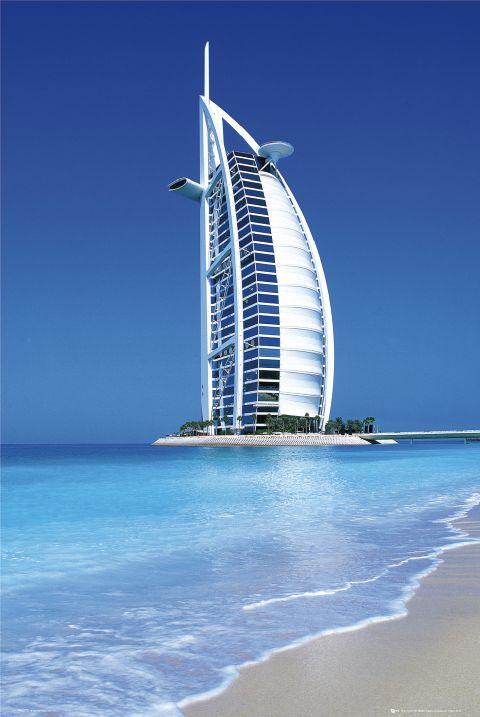 Top 20 world 39 s most iconic skyscrapers 15 burj al arab for Sailboat hotel dubai