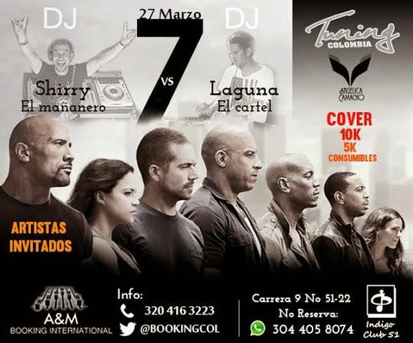 EVENTO La velocidad-te-pone-alas-Tuning Colombia y BOOKINGCOL-Rapidos-y-Furiosos-7