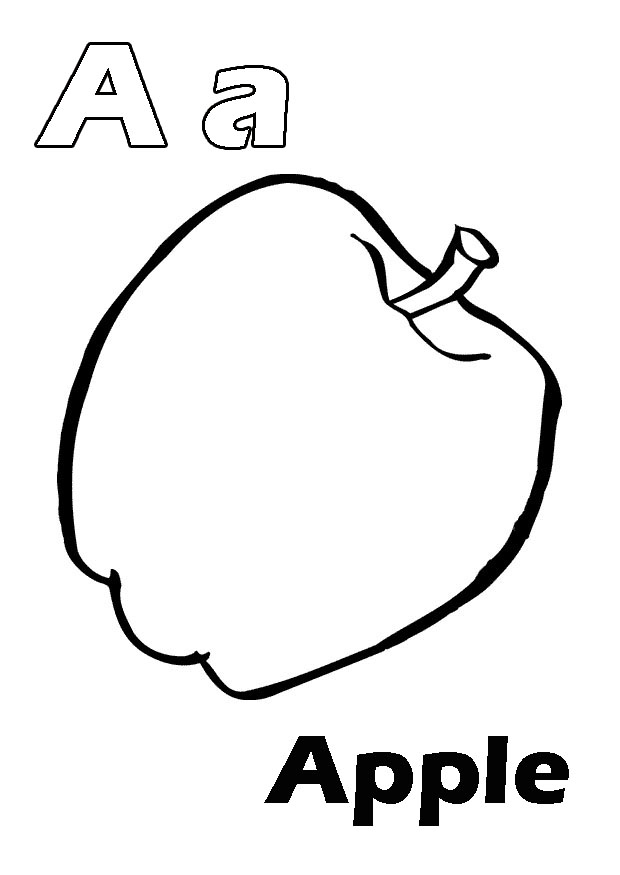 dltk alphabet coloring pages - photo#33